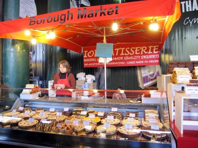 第二次來到這個Borough Market,比數年前來的時候更多食物更多人