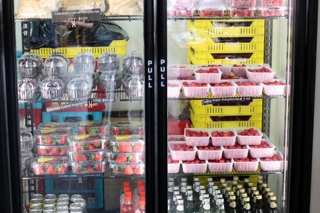 第一站到了一個Rasberry Farm,也有其他不同的Berry賣