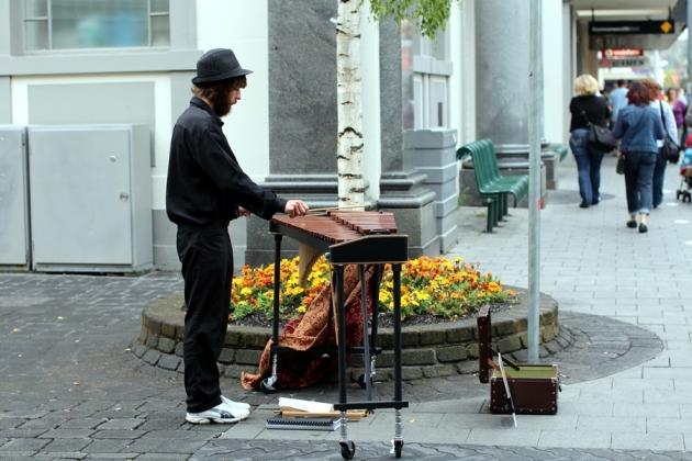 街頭上的表演