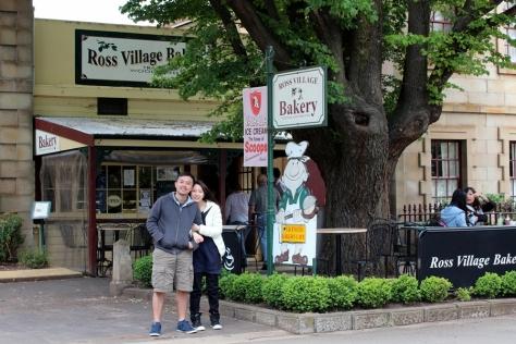 經過Ross,就去有名的Ross Bakery吃最有名的Vanilla Slice