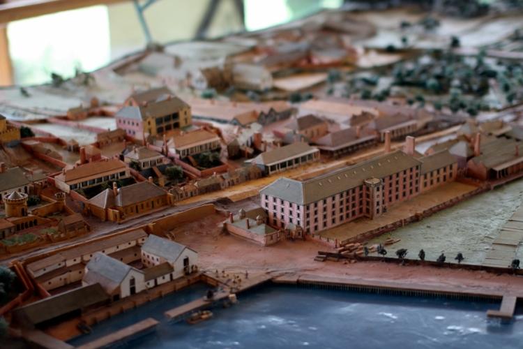 這是Port Authur的模型