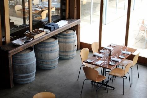 這個酒莊裡的餐廳,環境一流