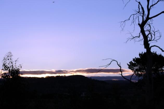 黃昏日落,原來今天是2012.12.21,世界未日在這裡過真舒服
