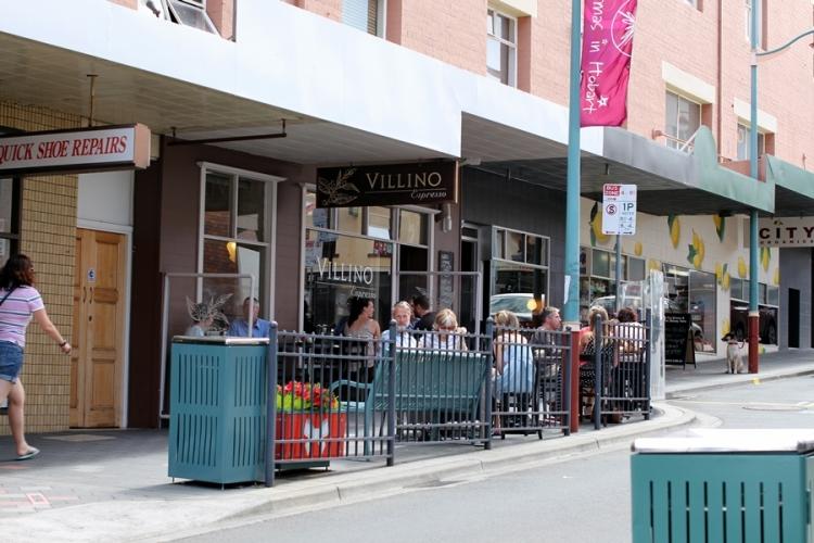 走到市中心有不少Cafe可以休息一會