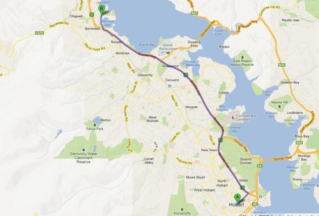 從Hobart去大約要十五分鐘。Mona有免費的停車位,內裡有簡單的食物,旁也有Moorilla酒莊和餐廳