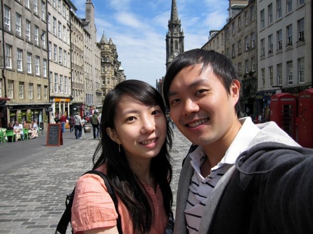 開始我們的愛丁堡一天遊
