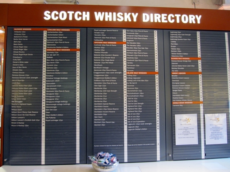 Scotch Whisky 小麥威士忌(http://en.wikipedia.org/wiki/Scotch_whisky)