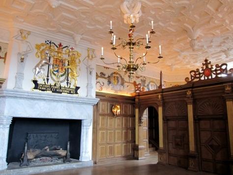 城堡內裡的房間