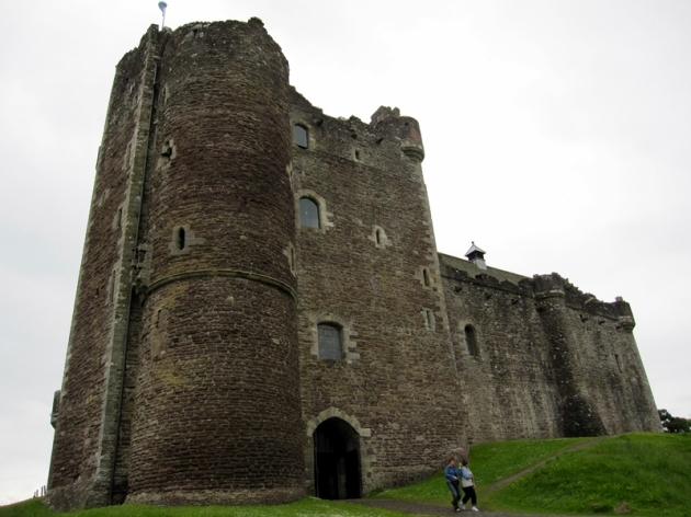 第一站是去Callander一個小鎮,中途路經了一個小古堡。我也忘記了名字