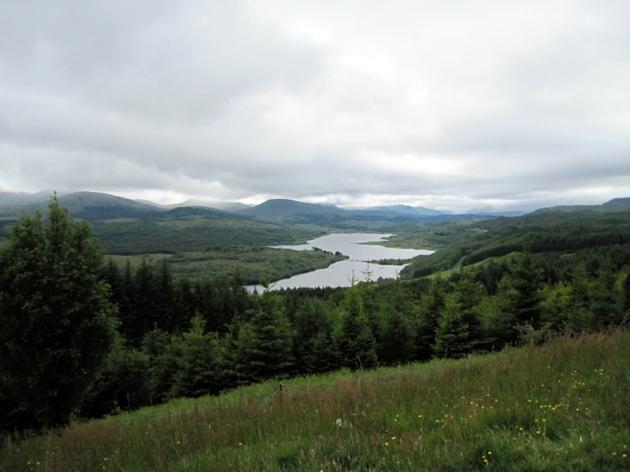 Glencoe被喻為景色一流的地方,我們就一邊看著風景,一邊來個午睡