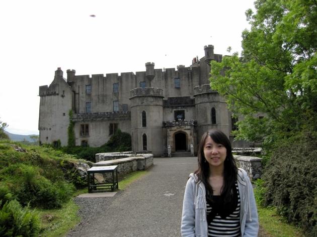 下午,車子就帶我們往西邊,來到了Dunvegan Castle (http://www.dunvegancastle.com/content/default.asp)
