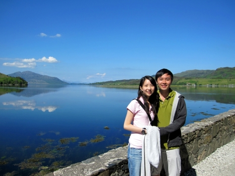 有人在這裡辦婚禮,因為風景十分美,而且在古堡結婚,十分浪漫