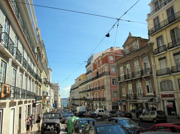 這個地區叫Barrio Alto,是舊城區旁的小山,晚上更是不少餐廳的集中地