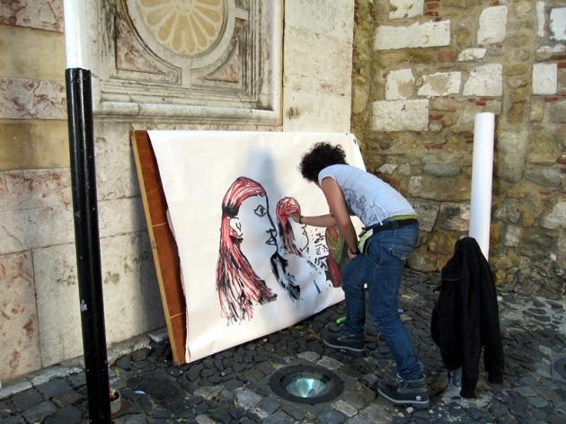 這些城市通常會孕育不少街頭藝術家