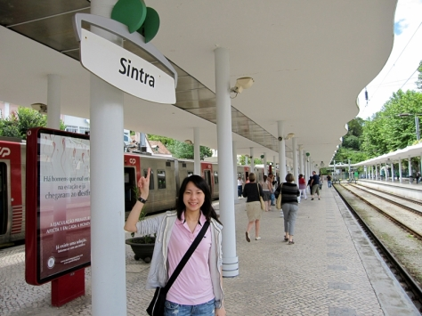 train to sintra
