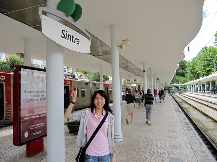 train to sintra