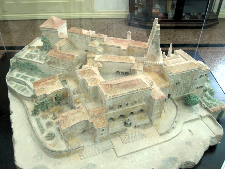 sintra palace model