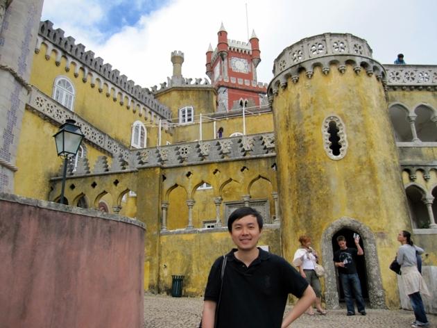 sintra pena castle