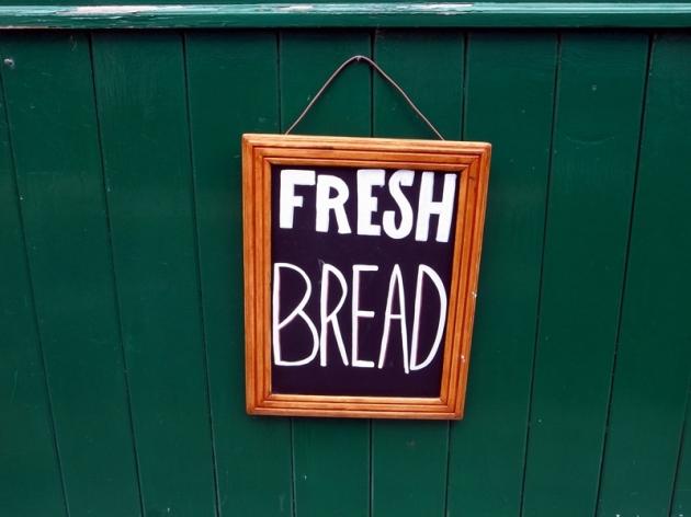 還有新鮮面包