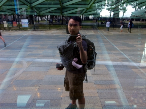 我的前後背包