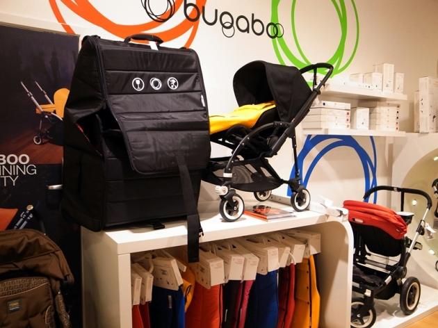 在倫敦這裡有很多人推Bugaboo,在商場有不少人推Stokke,還有Mamas &papas等牌子的嬰兒車