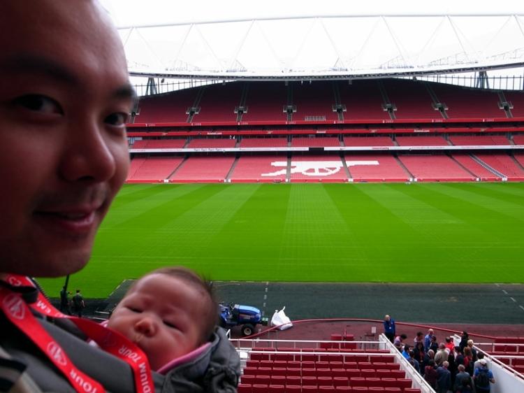 看英國最高級的足球聯賽多年,今次終於第一次踏足英超球會的球場