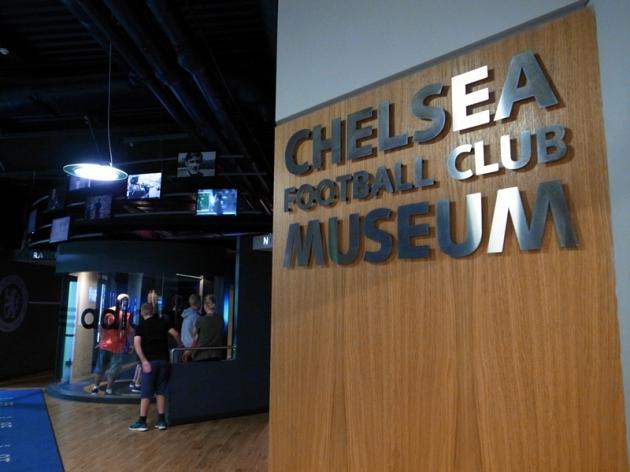 如果stadium tour還沒有開始,就可到樓上的博物館先參觀