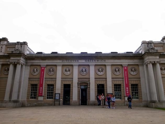 第一個是這個海軍學院,現在變成Discover Greenwich的博物館,簡單介紹整個Greenwich的歷史和發展