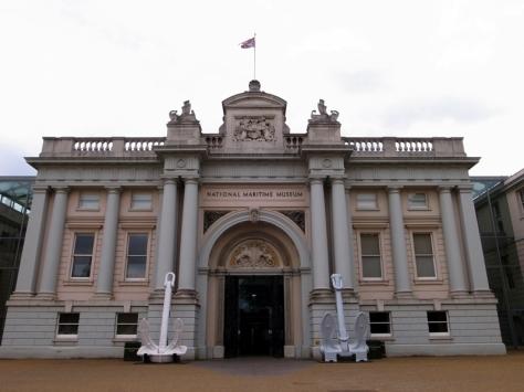 這是英國最大的一個關於航海歷史的博物館