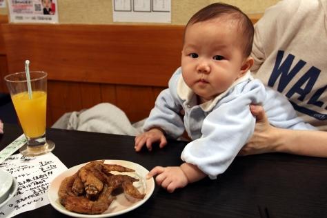 啊!名古屋雞翼好出名,我可唔可以食一隻?